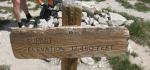 Wheeler Pass ElevationSign