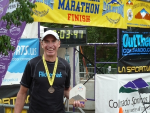 Paul Hooge wins Pikes Peak marathon