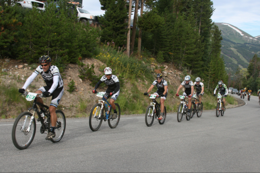 Team Alchemist Train at the Breck Epic 2011