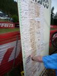 The Leaderboard. Notice the muddy tabs? Yeah, that was us.
