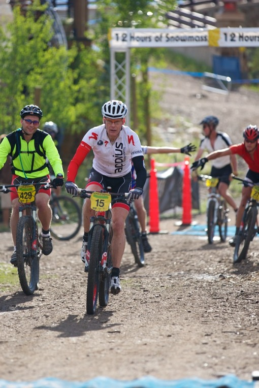 drew lap 2. 12 hours of Snowmass
