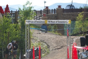 starting line 12 hours of Snowmass