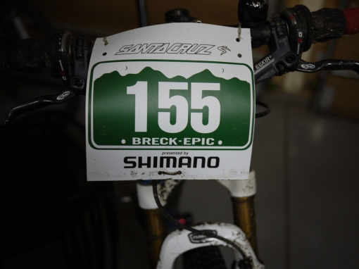 Breck Epic Number Plate
