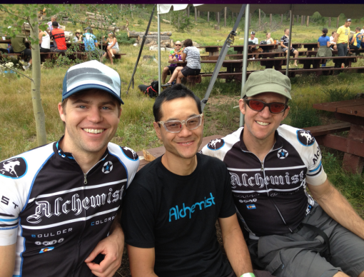 Team Alchemist at the Laramie Enduro post race.