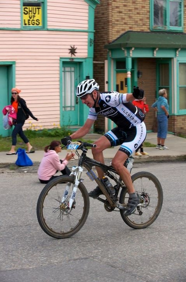 Paul on the home stretch at Leadville