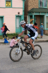 Paul on the home stretch at Leadville Trail100