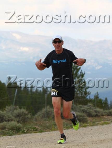 Paul representing on the 10k run.
