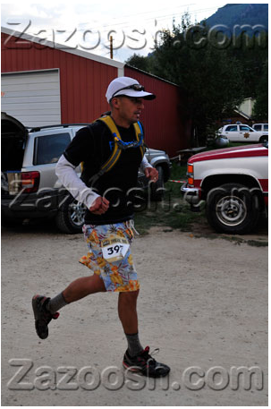 Mat at the Leadville Trail 100 run