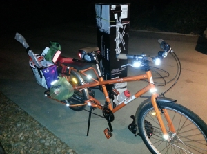 This bike was made for haulin'