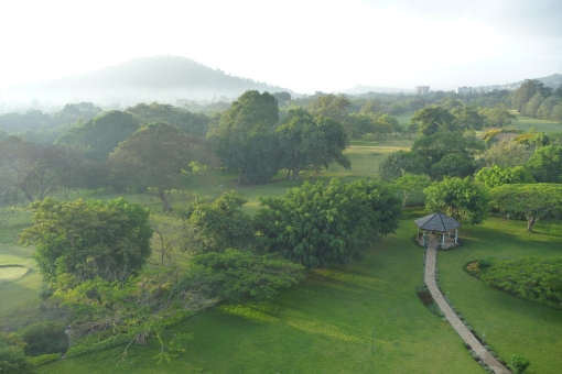 View from our Hotel in Arusha