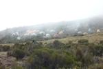 Kikilewa Camp shrouded in fog
