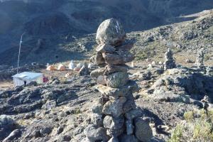 Mawenzi Camp Cairn