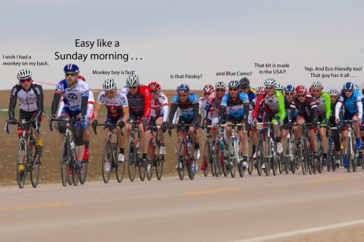 Sean leading the Weld County Road Race