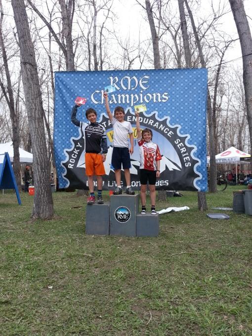 max on podium at Battle the Bear
