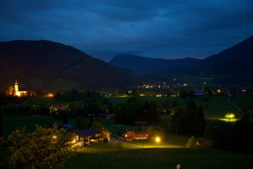 View from Ruhpolding Hotel