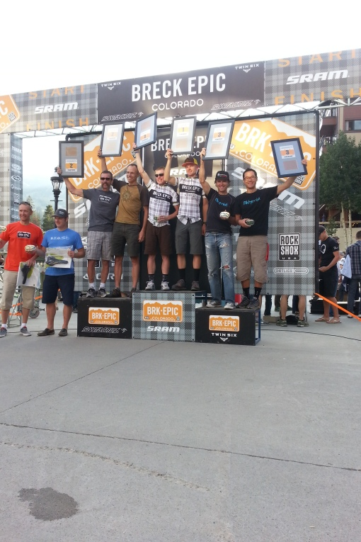 Breck Epic 2013. Walsworth and Wu, 3rd overall.