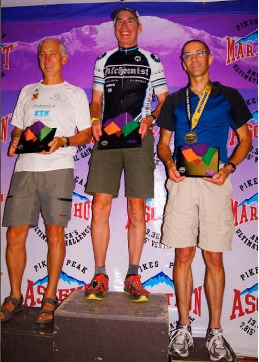 Paul wins Pikes Peak Marathon