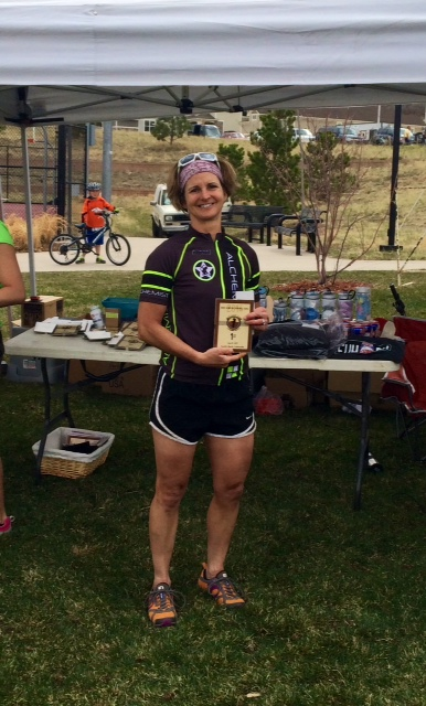 Michele rode her SS to v-i-c-t-o-r-y in the first RME race of the season.