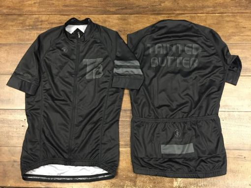90% black sublimated on 100% black.  Stealthy.