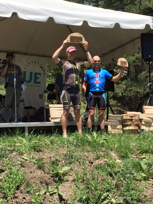 Steven P. knocking out a 2nd in the fat bike cat and top 10 overall at the bailey Hundito.